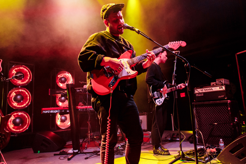 Unknown Mortal Orchestra performing at the 9:30 Club in Washington, DC on 2/17/16 (photo by Matt Condon / @arcane93)