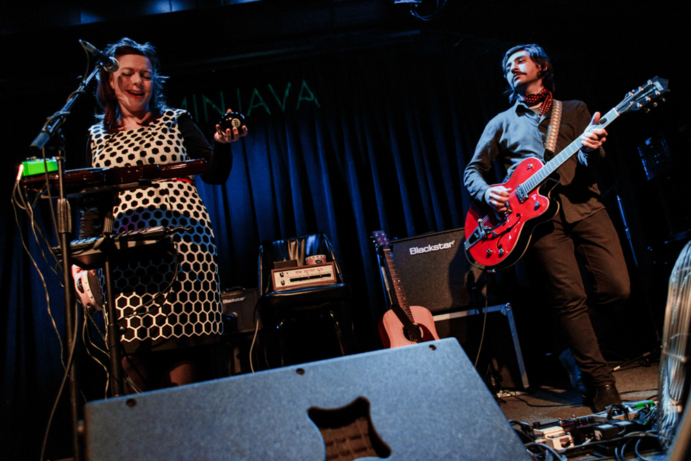 Piney Gir opening for Gaz Coombes at Jammin' Java in Vienna, VA (photo by Matt Condon / @arcane93)