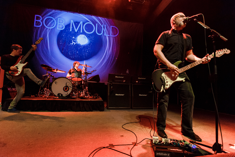 Bob Mould at the 9:30 Club in Washington, DC - 4/27/16 (photo by Matt Condon / @arcane93)