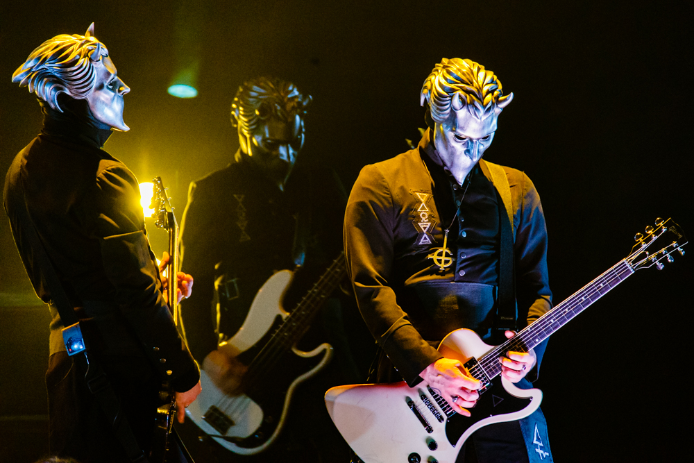 Ghost performing at the Hippodrome Theatre in Baltimore, MD - 5/8/16 (photo by Matt Condon / @arcane93)