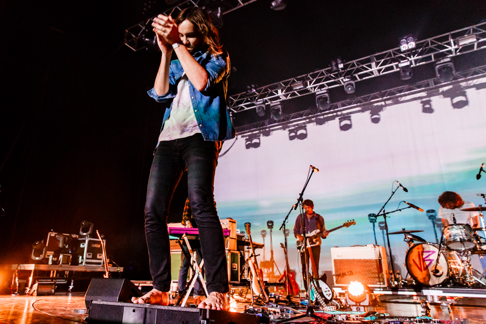 Tame Impala performing at Merriweather Post Pavilion in Columbia, MD - 6/16/2016 (photo by Matt Condon / @arcane93)