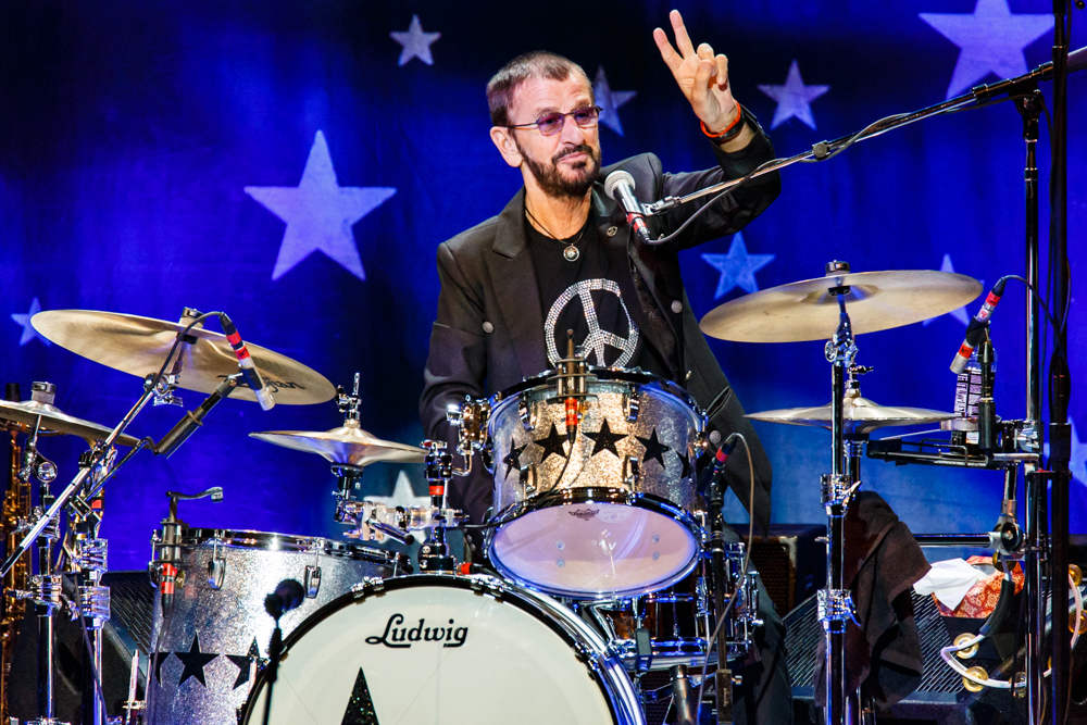 Ringo Starr and His All-Starr Band performing at the Warner Theatre in Washington, DC on June 17th, 2016 (photo by Matt Condon /  @arcane93 )