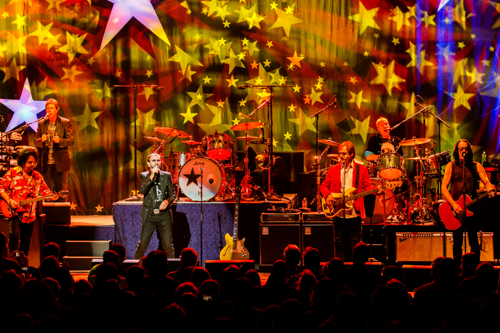 Ringo Starr and His All-Starr Band performing at the Warner Theatre in Washington, DC - 6/17/2016 (photo by Matt Condon / @arcane93)