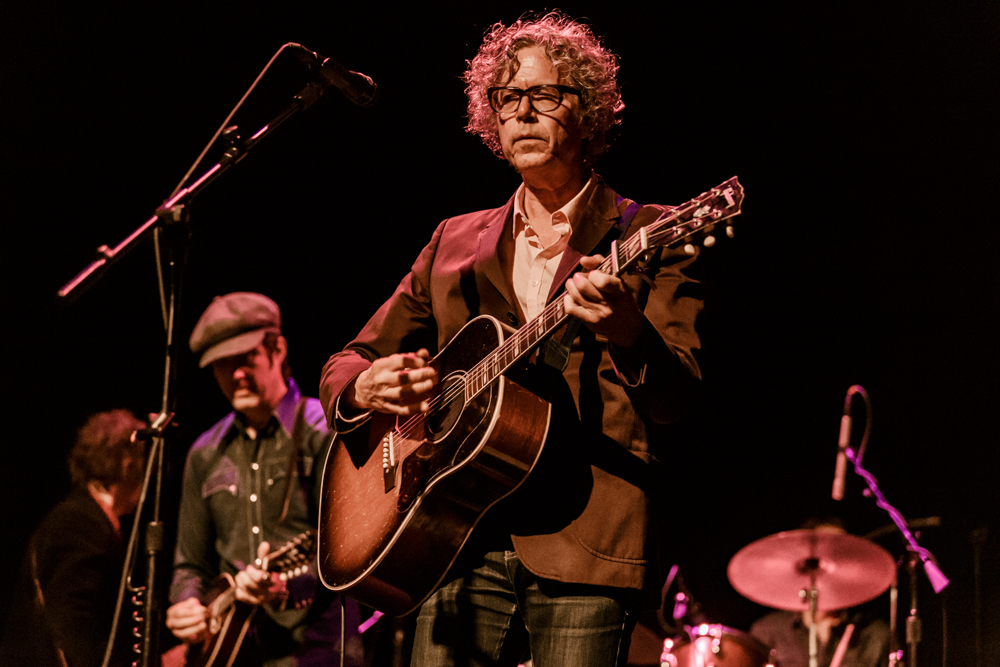 Gary Louris of The Jayhawks performing at the Lincoln Theatre in Washington, DC on June 18th, 2016 (photo by Matt Condon /  @arcane93 )