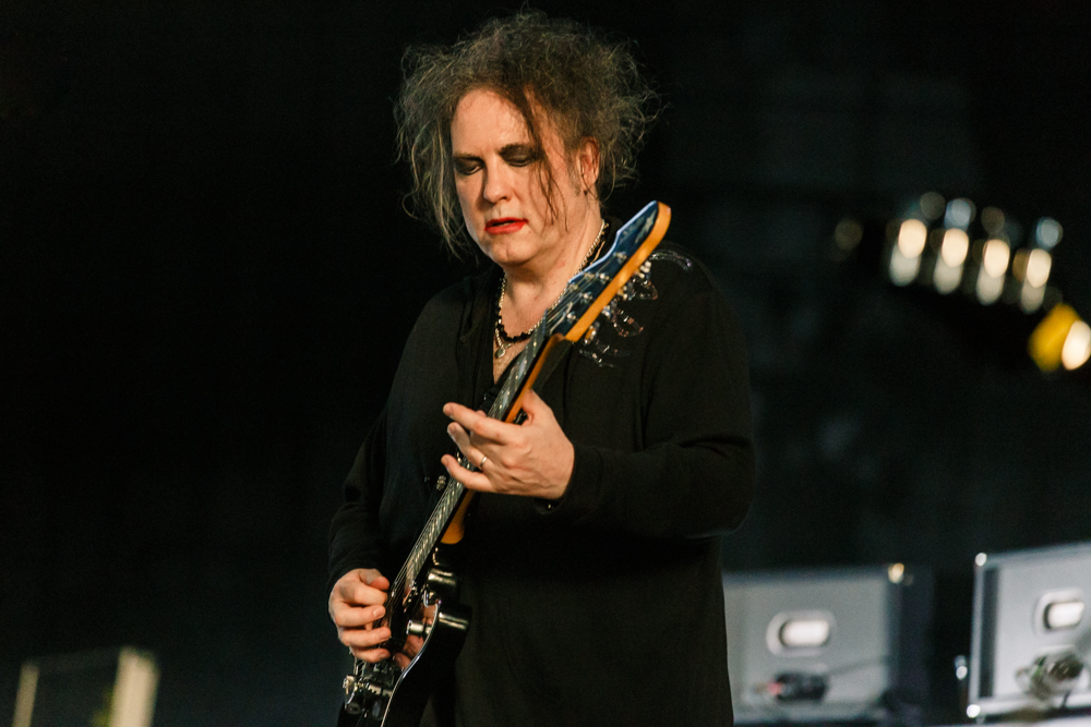 The Cure performing at Merriweather Post Pavilion in Columbia, MD - 6/22/2016 (photo by Matt Condon / @arcane93)