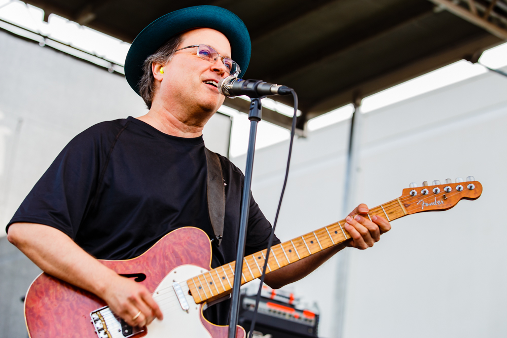 Gordon Gano of the Violent Femmes performing at the Flying Dog Brewery in Frederick, MD on June 25th, 2016 (photo by Matt Condon /  @arcane93 )
