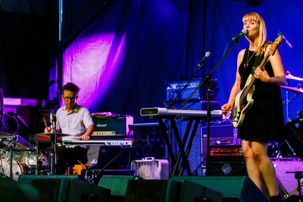 Wye Oak at the Hopscotch Music Festival in Raleigh, NC, 9/8/2016 (photo by Matt Condon / @arcane93)