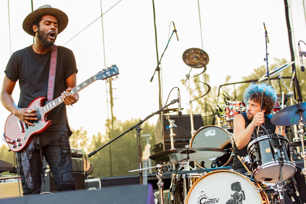 Gary Clark Jr at the Hopscotch Music Festival in Raleigh, NC, 9/9/2016 (photo by Matt Condon / @arcane93)