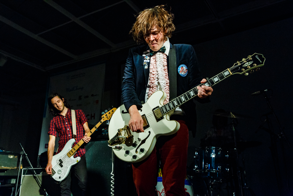 Beach Slang at the Hopscotch Music Festival in Raleigh, NC, 9/9/2016 (photo by Matt Condon / @arcane93)