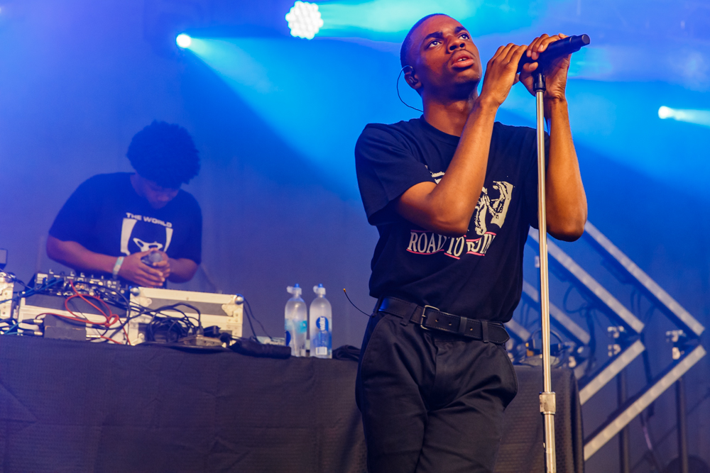 Vince Staples at the Hopscotch Music Festival in Raleigh, NC, 9/10/2016 (photo by Matt Condon / @arcane93)