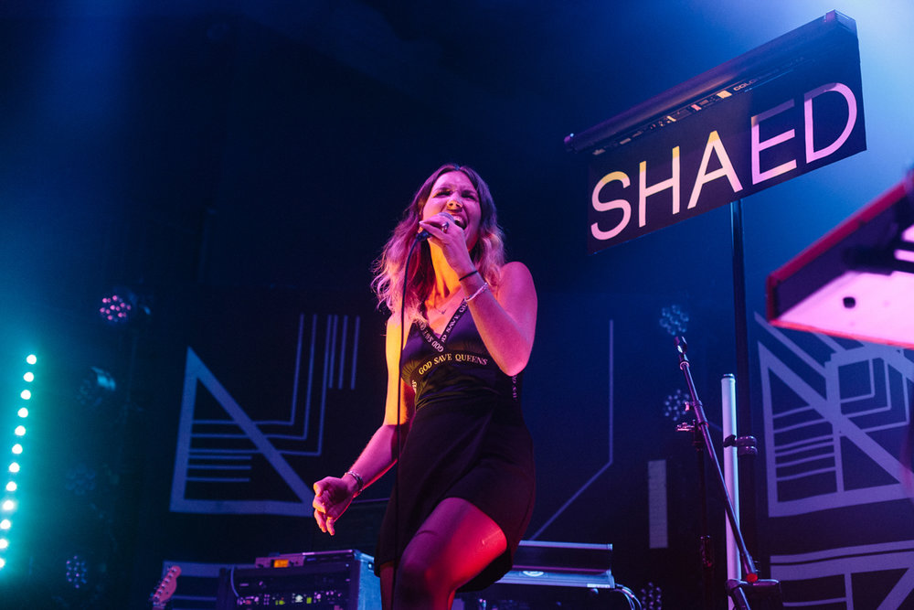 SHAED opening for Marian Hill at the 9:30 Club in Washington, DC - 9/10/15 (Photo by Mauricio Castro/@TheMauricio