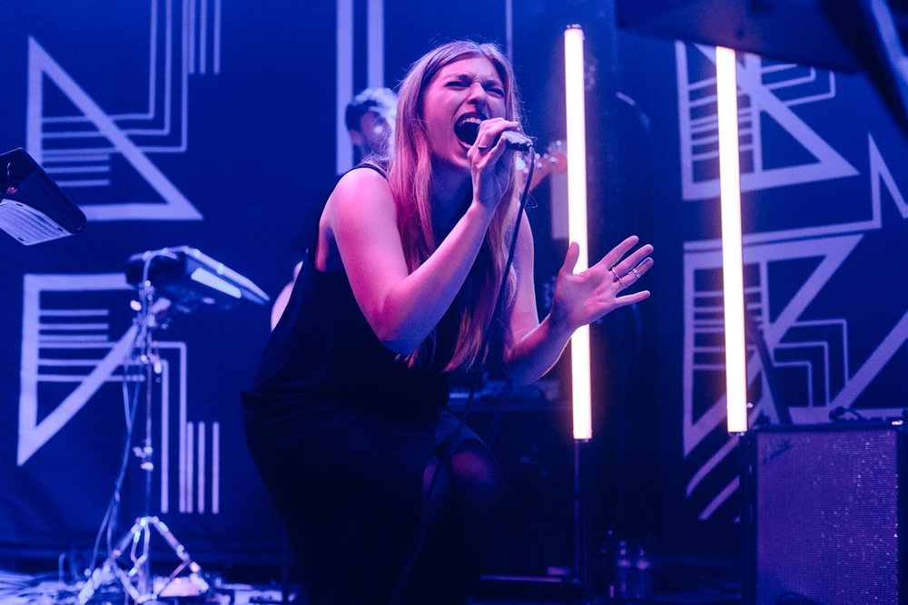 Verite opening for Marian Hill at the 9:30 Club in Washington, DC - 9/10/15 (Photo by Mauricio Castro/@TheMauricio