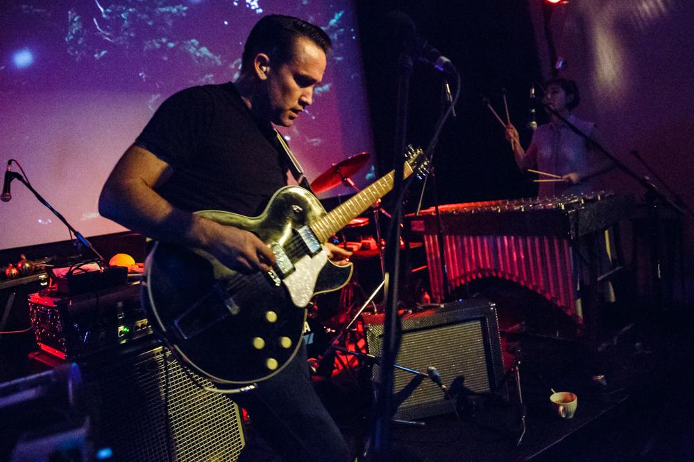 Xiu Xiu performing at PhilaMOCA in Philadelphia, PA - 10/1/2016 (photo by Matt Condon / @arcane93)