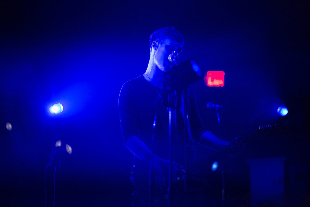 Bob Moses performing at the 9:30 Club in Washington, DC - 9/29/16 (photo by Mauricio Castro / @TheMauricio)