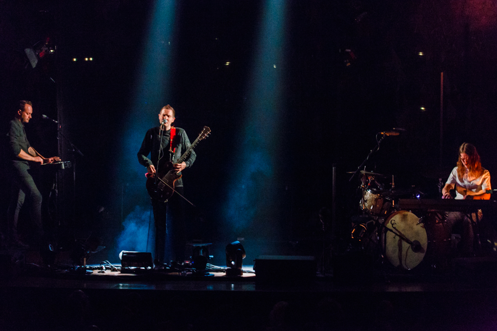 Sigur Rós performing at the Academy of Music in Philadelphia, PA - 10/8/2016 (photo by Matt Condon / @arcane93)