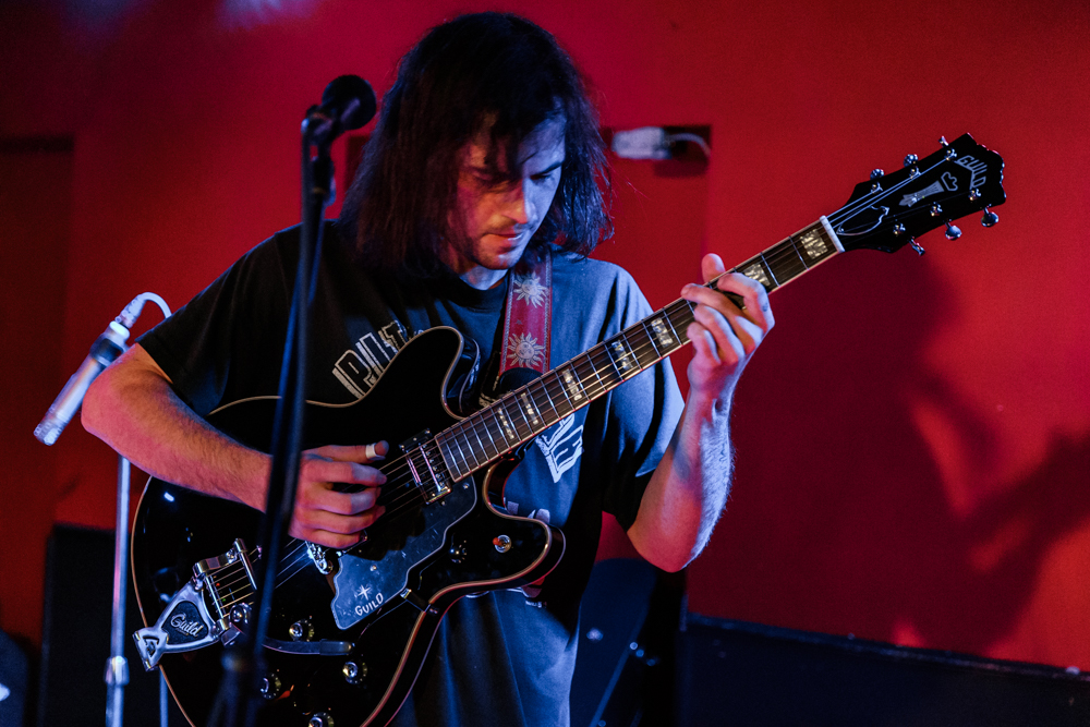 Ryley Walker performing at DC9 in Washington, DC - 10/26/2016 (photo by Matt Condon / @arcane93)