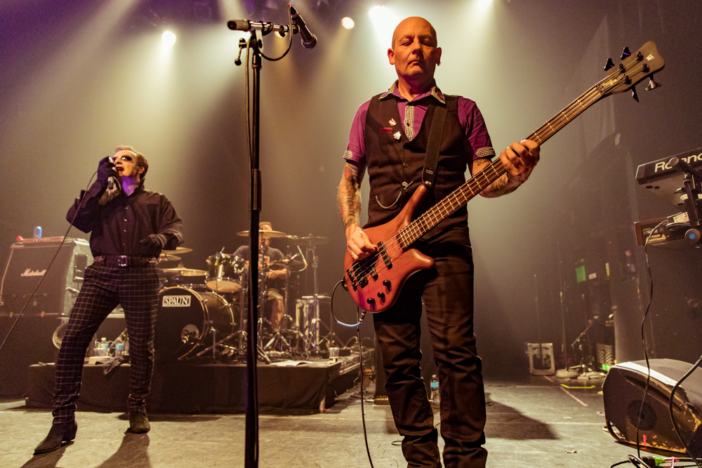 The Damned performing at the Gramercy Theatre in New York, NY - 10/30/2016 (photo by Matt Condon / @arcane93)