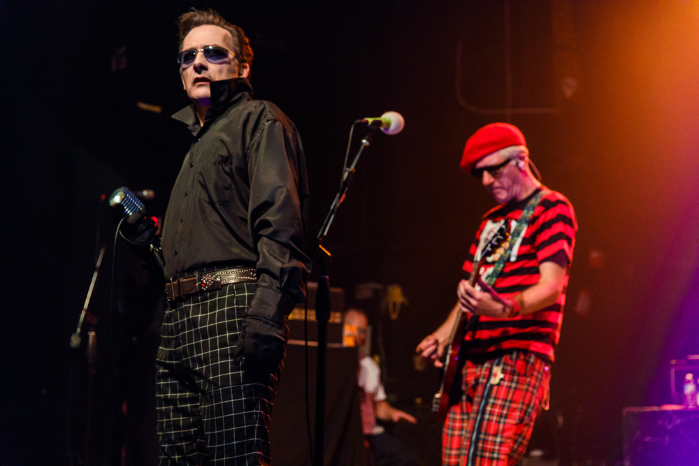 The Damned performing at the Gramercy Theatre in New York, NY on October 30th, 2016 (photo by Matt Condon /  @arcane93 )