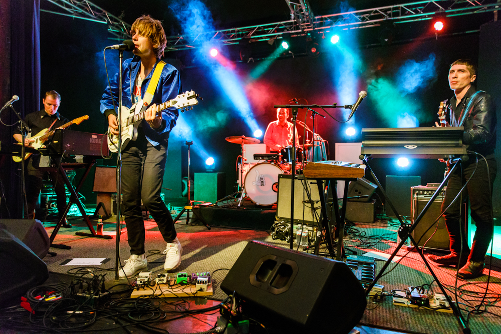 Islands performing at Arden Gild Hall in Arden, DE - 10/23/2016 (photo by Matt Condon / @arcane93)