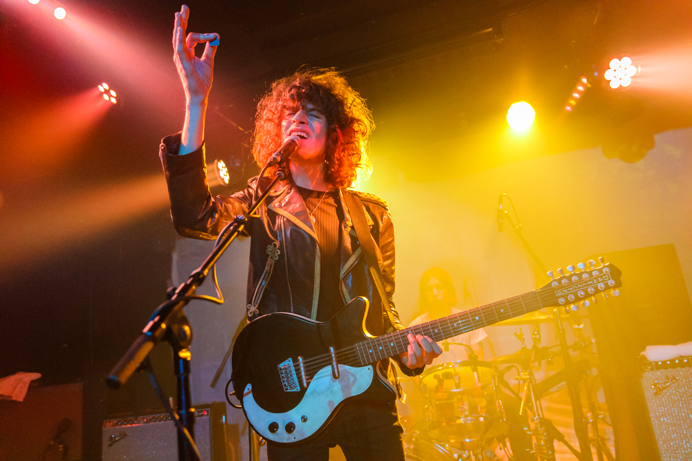 Temples performing at the Rock and Roll Hotel in Washington, DC - 10/27/2016 (photo by Matt Condon / @arcane93)