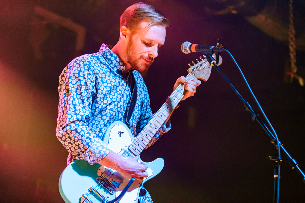 Kevin Devine and the Goddamn Band at the Baltimore Soundstage in Baltimore, MD - 11/1/2016 (photo by Matt Condon / @arcane93)