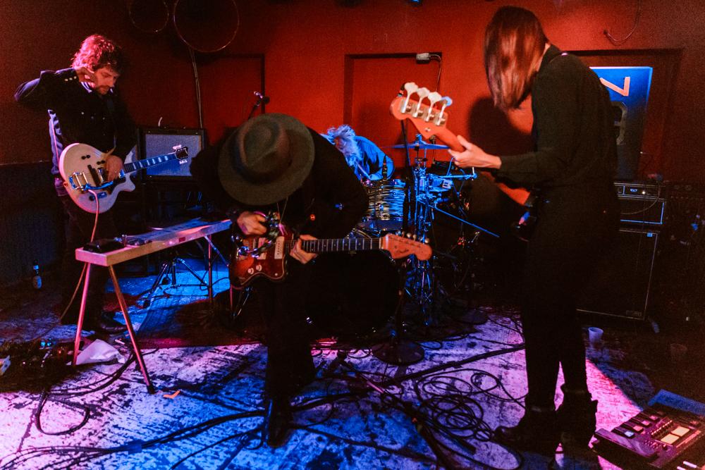 The Veils performing at DC9 in Washington, DC - 11/4/2016 (photo by Matt Condon / @arcane93)