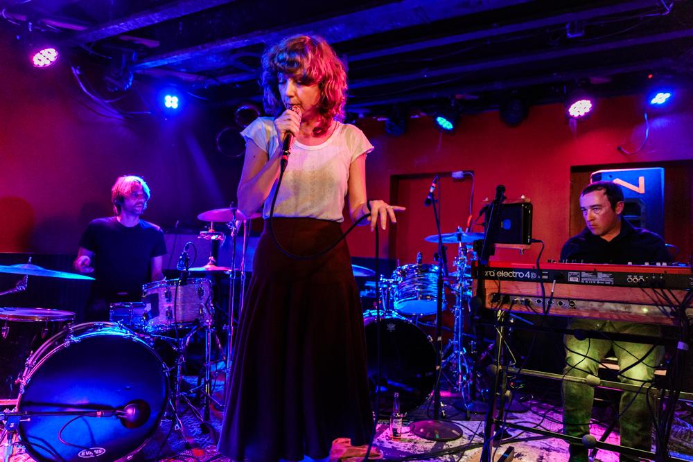 Celebration performing at DC9 in Washington, DC - 11/4/2016 (photo by Matt Condon / @arcane93)