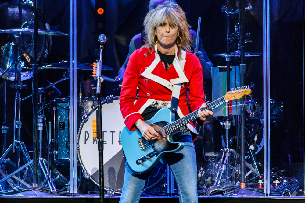 The Pretenders at the Verizon Center in Washington, DC - 11/14/2016 (photo by Matt Condon / @arcane93)