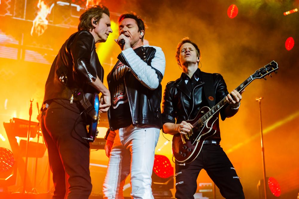 Duran Duran performing at the Verizon Center in Washington, DC on April 8th, 2016 (photo by Matt Condon / @arcane93)