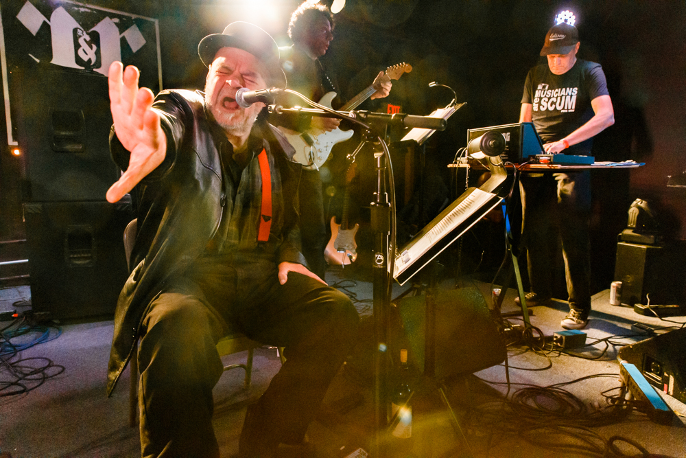 Pere Ubu performing at the Rock and Roll Hotel in Washington, DC on June 24th, 2016 (photo by Matt Condon / @arcane93)