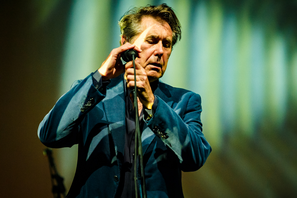Bryan Ferry performing at the Lincoln Theatre in Washington, DC on July 23rd, 2016 (photo by Matt Condon /  @arcane93 )