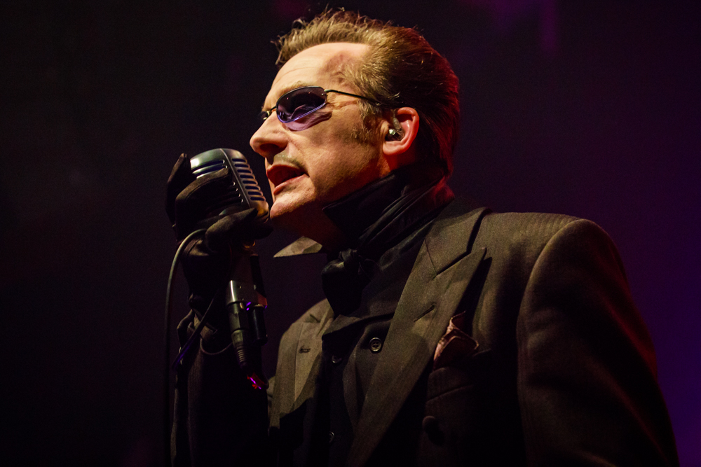 The Damned performing at the Gramercy Theatre in NYC on October 30th, 2016 (photo by Matt Condon / @arcane93)