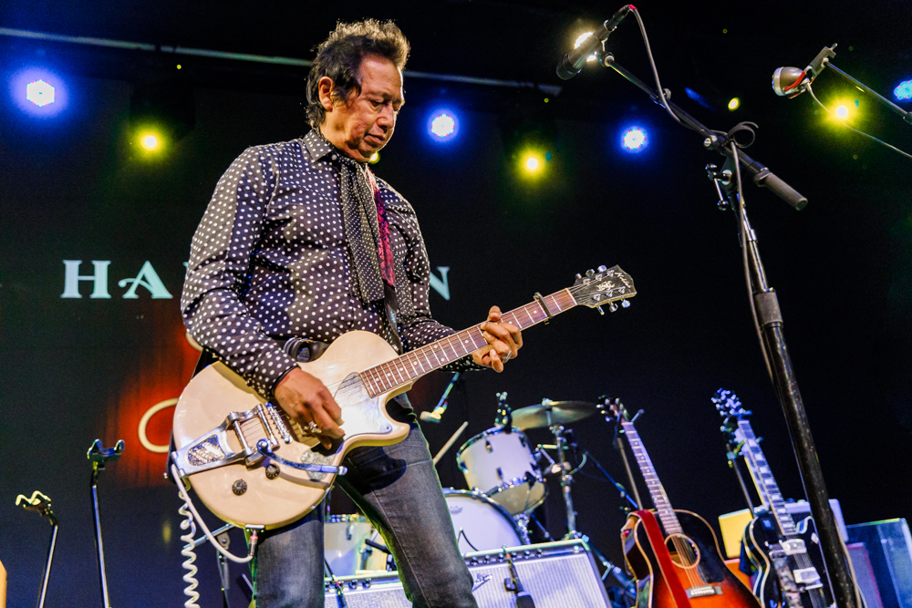 Alejandro Escovedo performing at The Hamilton in Washington, DC, 1/5/2017 (photo by Matt Condon / @arcane93)