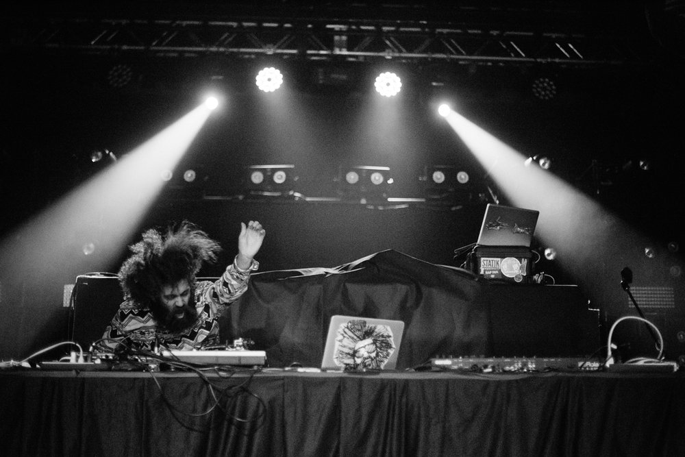 The Gaslamp Killer opening for Run The Jewels at Echostage in Washington, DC on 1/19/17 (Photo by Mauricio Castro/@TheMauricio)