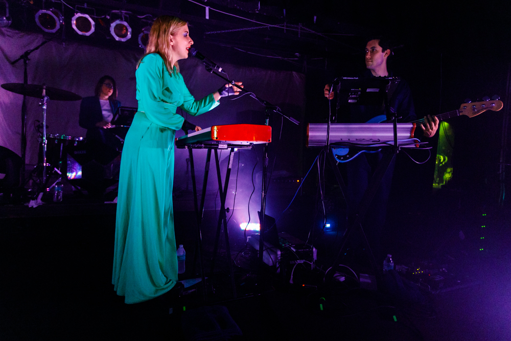 Austra performing at the Black Cat in Washington, DC - 1/28/2017 (photo by Matt Condon / @arcane93)