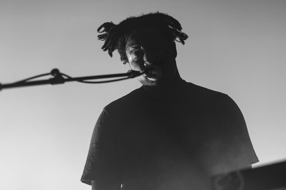 Sampha performing at the 9:30 Club in Washington, DC - 2/8/17 (Photo by Mauricio Castro/@TheMauricio)
