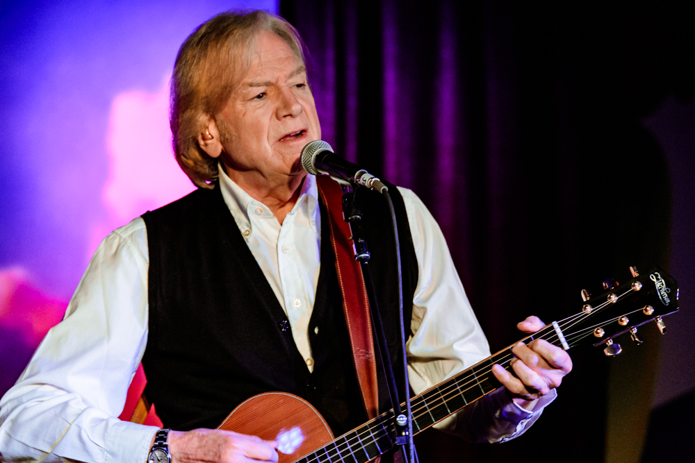 Justin Hayward performing at the Rams Head On Stage in Annapolis, MD on February 12th, 2017 (photo by Matt Condon /  @arcane93 )