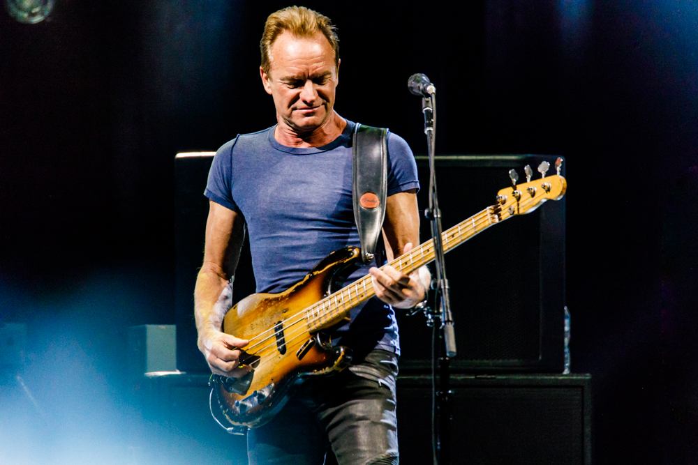Sting performing at the MGM National Harbor - 3/12/2017 (photo by Matt Condon / @arcane93)