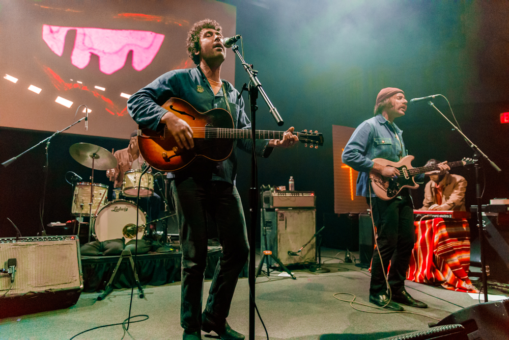 Allah-Las performing at the 9:30 Club in Washington, DC on March 27th, 2017 (photo by Matt Condon /  @arcane93 )