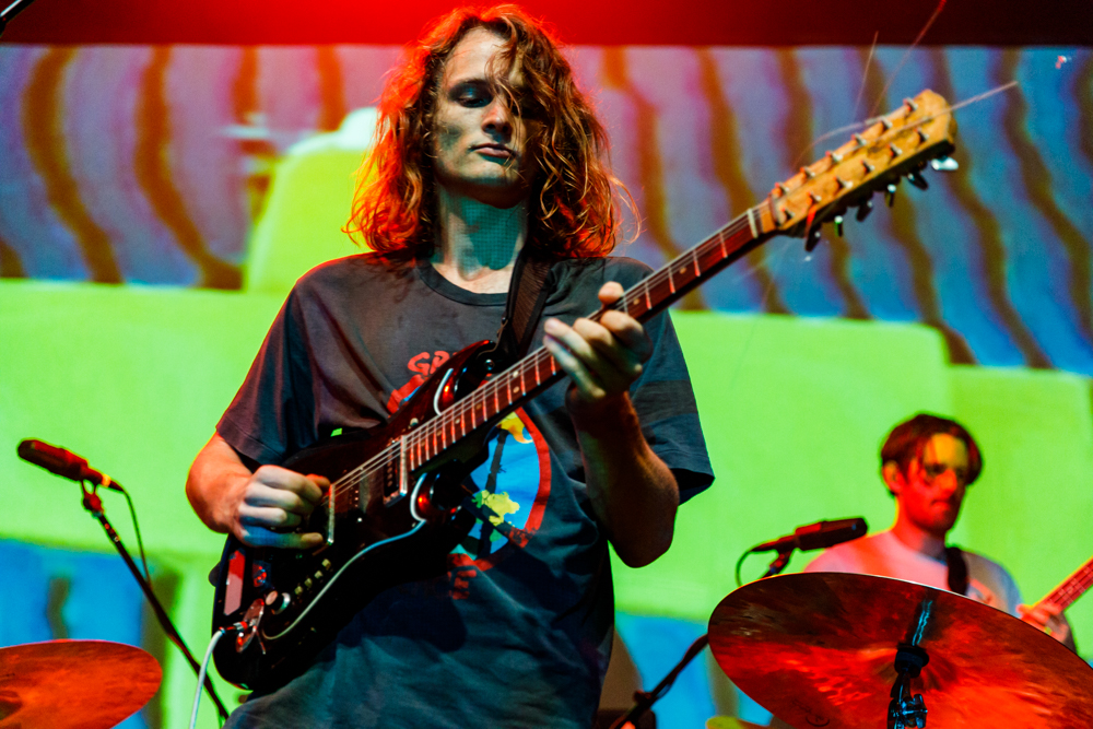 King Gizzard and the Lizard Wizard performing at the 9:30 Club in Washington, DC - 3/29/2017 (photo by Matt Condon / @arcane93)