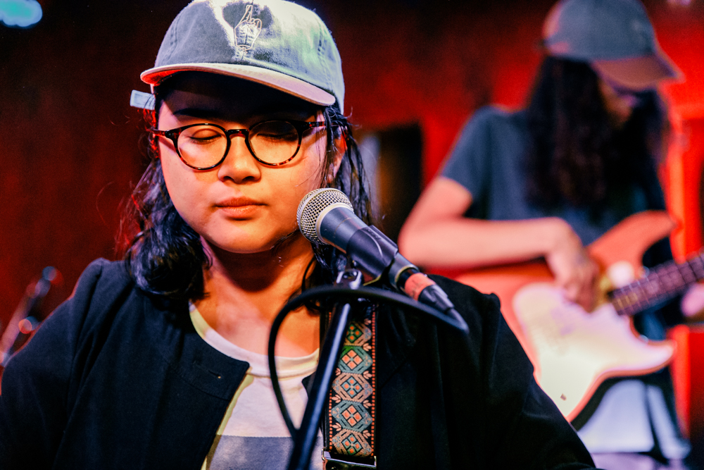 Jay Som performing at DC9 in Washington, DC - 4/1/2017 (photo by Matt Condon / @arcane93)