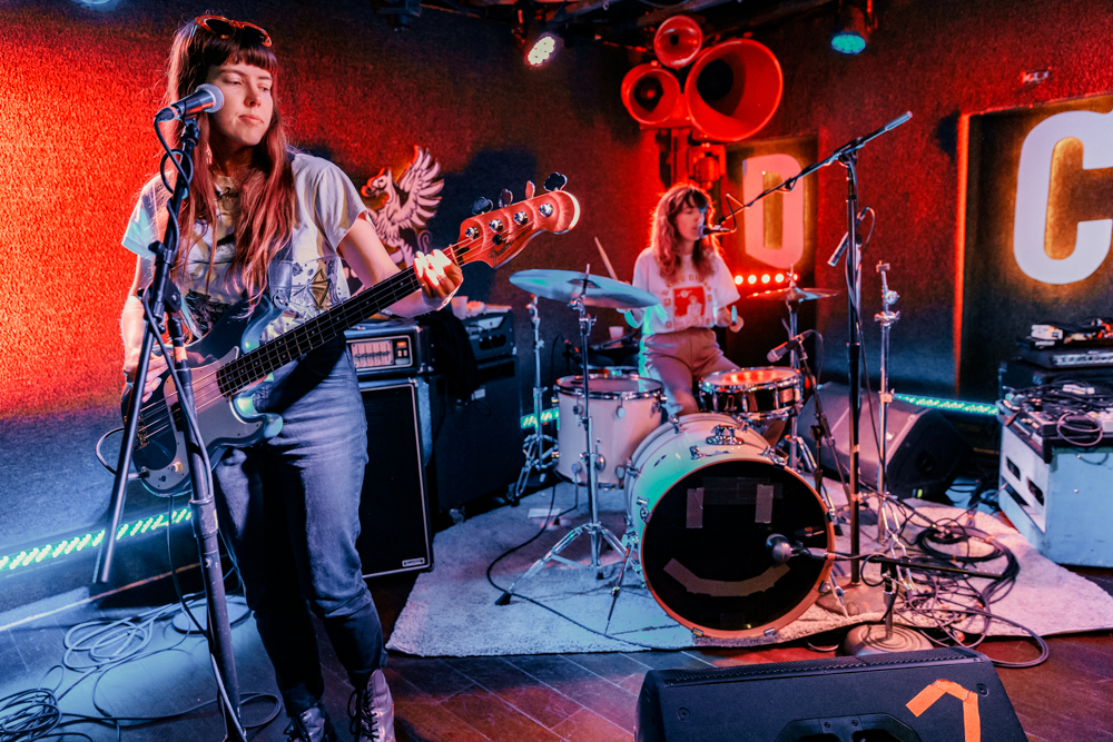 The Courtneys performing at DC9 in Washington, DC - 4/1/2017 (photo by Matt Condon / @arcane93)