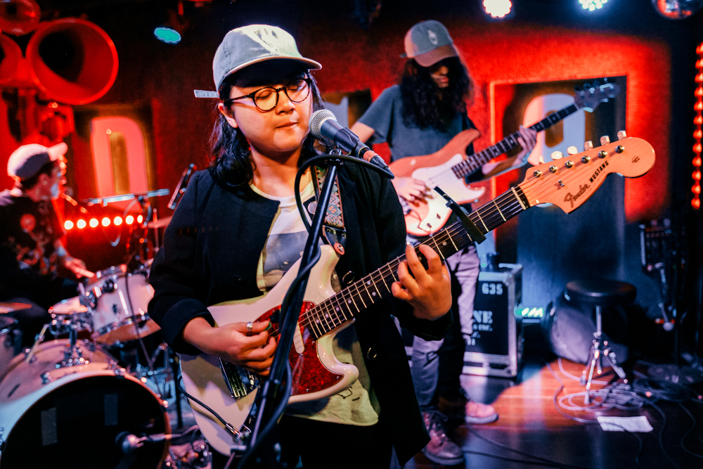 Jay Som performing at DC9 in Washington, DC on April 1st, 2017 (photo by Matt Condon /  @arcane93 )