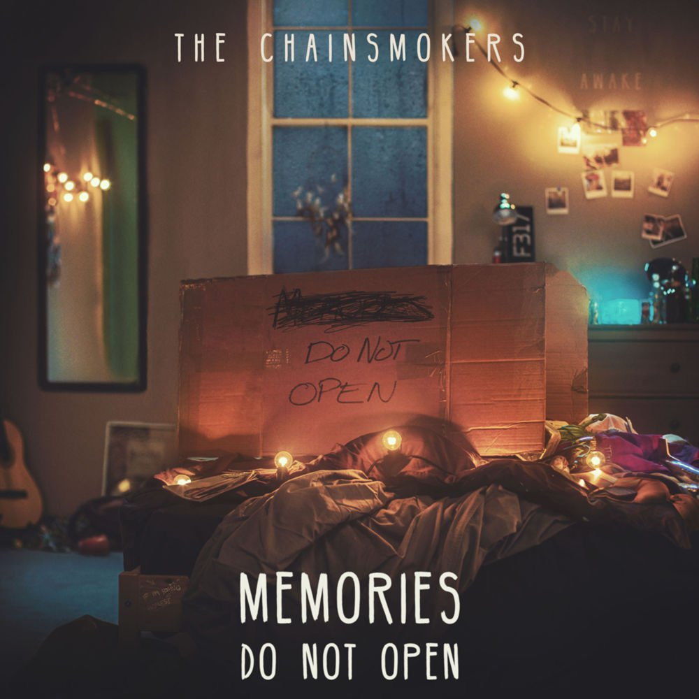 Memories...Do Not Open  The Chainsmokers   Eduardo: Pass Marcus: Buy It   LINKS   Official Site   Facebook   Twitter     LISTEN ON   Spotify   Apple Music