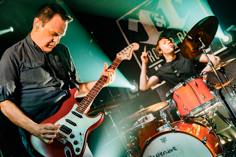 The Wedding Present performing at the Rock and Roll Hotel in Washington, DC on April 14th, 2017 (photo by Matt Condon /  @arcane93 )