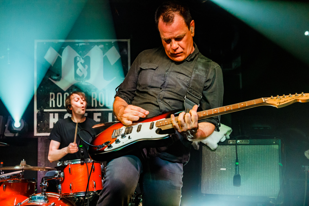 The Wedding Present performing at the Rock and Roll Hotel in Washington, DC - 4/14/2017