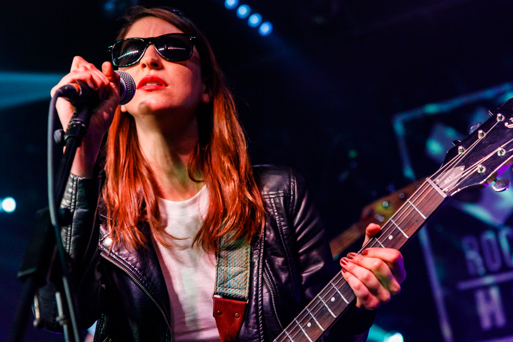 Colleen Green performing at the Rock and Roll Hotel in Washington, DC - 4/14/2017