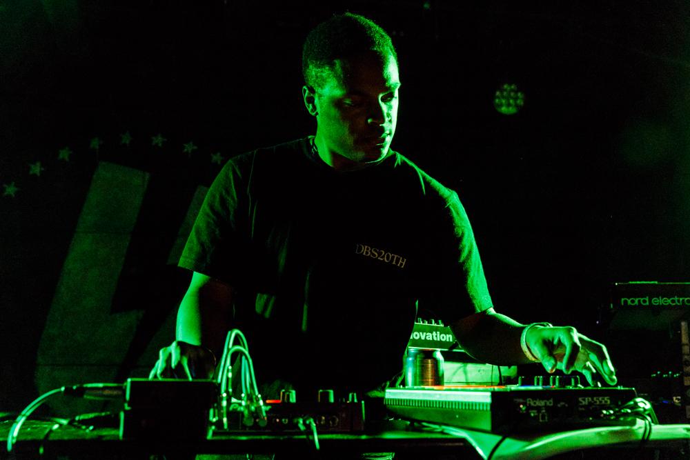 Dedekind Cut performing at U Street Music Hall in Washington, DC - 4/17/2017 (photo by Matt Condon / @arcane93)