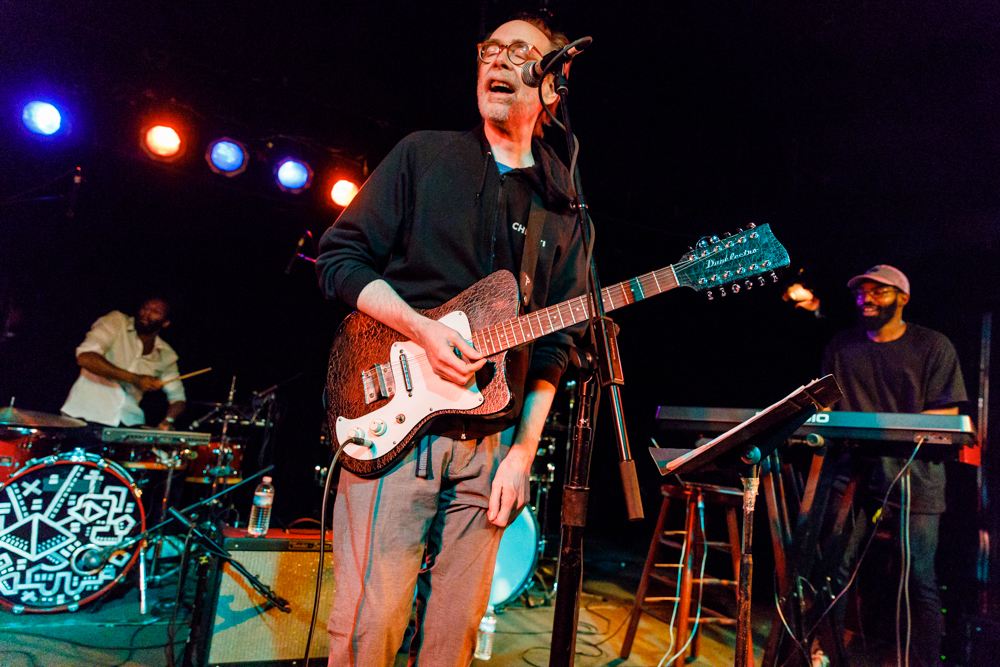 Arto Lindsay performing at the Black Cat in Washington, DC - 4/29/2017 (photo by Matt Condon / @arcane93)