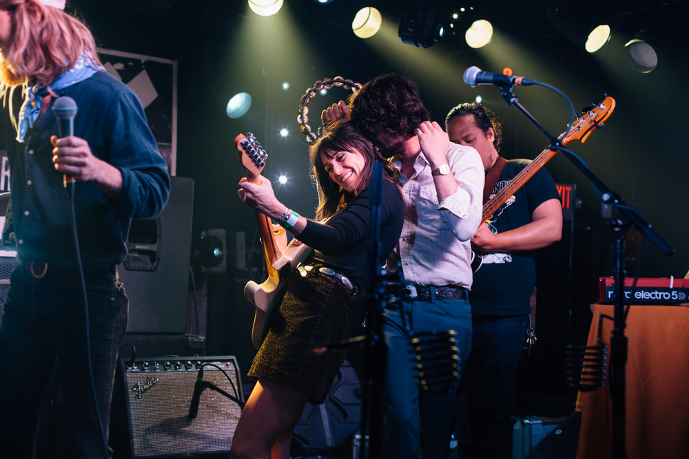 The Wild Reeds with Blank Range @ Rock & Roll Hotel (Photo by Mauricio Castro /  @themauricio )